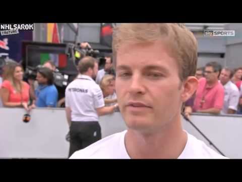 Nico Rosberg apologises to Lewis Hamilton for Belgium GP crash