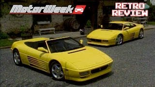 Retro Review:  Ferrari 348 Spider and Speciale
