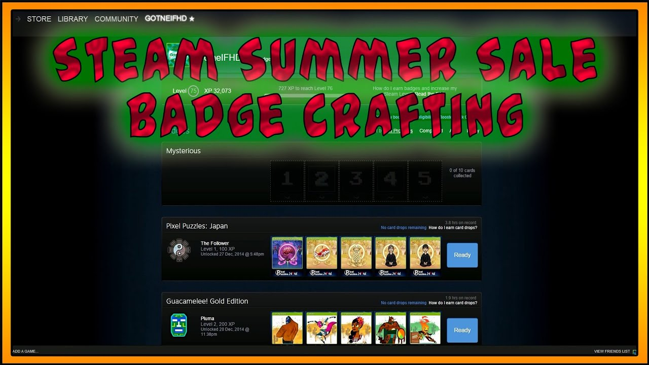 Summer Sale 2015 Badge Steam Summer Sale 2015 | Badge