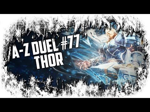 Smite: A-Z Ranked Duel #77 - Thor
