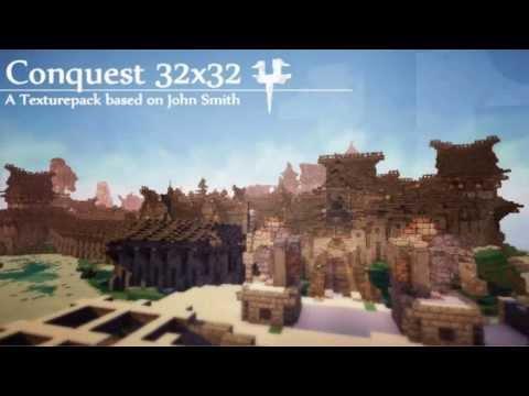 Los Mejores Packs De Texturas Para El Minecraft 1.6. 1.7. 1.7.9 y 1.7.10 (Conquest Texture Pack)