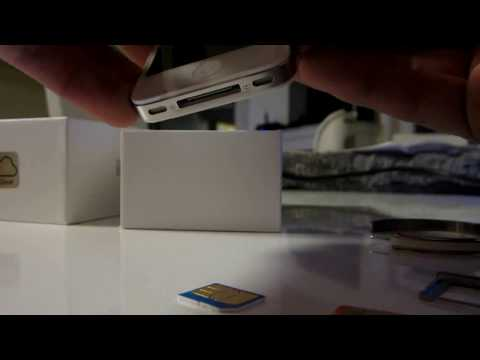 how to unlock iphone 4s in india
