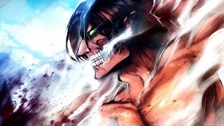 Eren's Rampage - Attack on Titan (English Dub with JAPANESE ROAR)