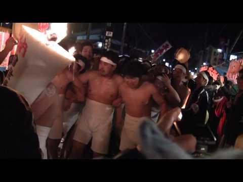 Naked Men Festival in URASA, Minami Uonuma-shi