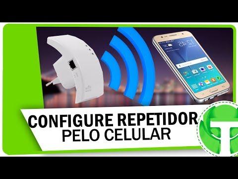 Como configurar um repetidor WiFi pelo celular em menos de 3 minutos