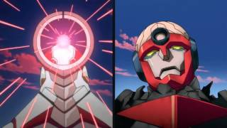 Gurren Lagann - First Combine Comparison
