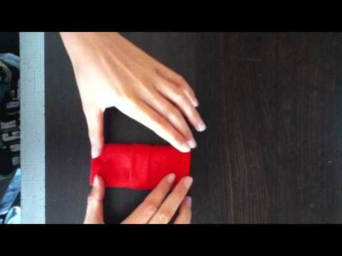 Plier une serviette en papier - Astuce décoration de table - Pliage ...