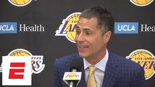 Lakers GM Rob Pelinka: LeBron James signing is 'validation' | ESPN