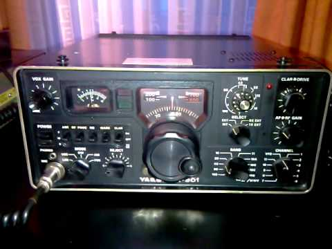 Yaesu FT-301 receiving SSB on 40m