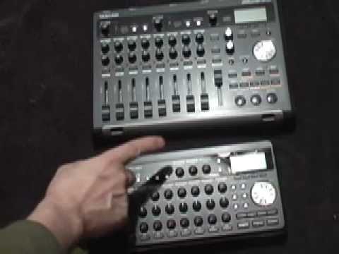 Tascam DP-03 VS DP-008 Digital Portastudio Multitrack recorders Comparison video