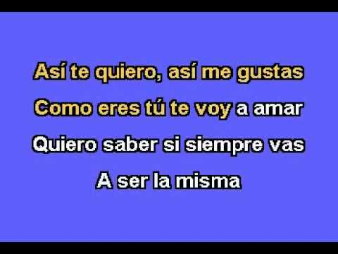 Jose Jose - Te Quiero Tal Como Eres