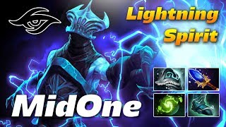 MidOne Razor Lightning Spirit | Dota 2 Pro Gameplay