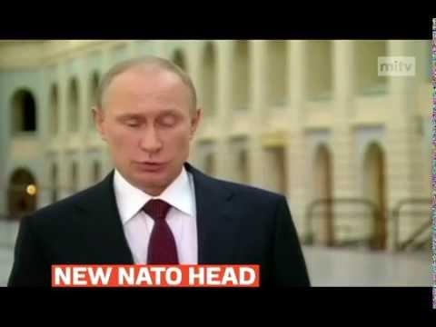 mitv -  Putin welcomes former Norwegian PM Jens Stoltenberg as new Nato head