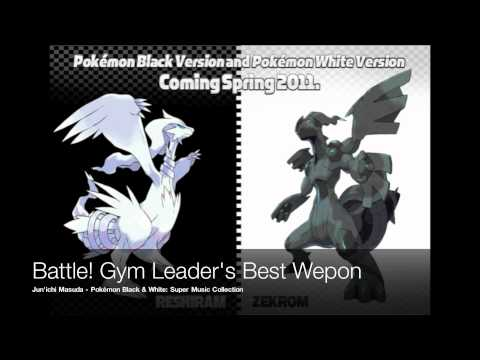 Pokemon Black And White Music: Gym Leader's Final Pokemon video