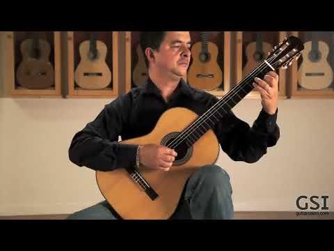 Barrios 'Vals Op. 8 No. 3' played by Manuel Espinas