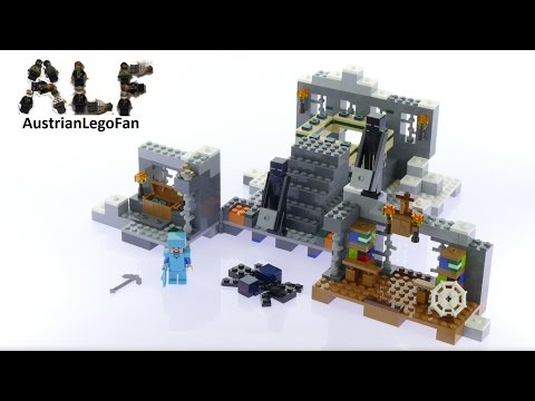 Lego Minecraft 21124 The End-Portal - Lego Speed Build Review