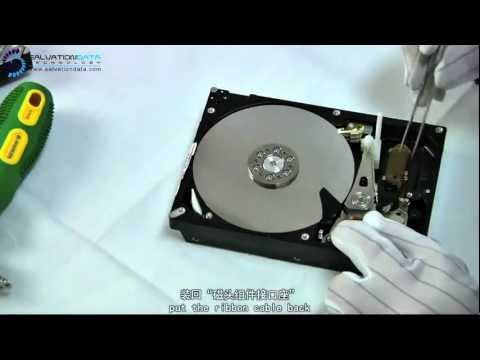 Head replacement for HITACHI Hard Disk? Check the EASIST&QUICKEST way to do it.