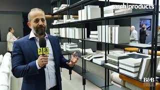 Fuorisalone 2018 | B&B ITALIA - Michel Anastassiades presents Jack shelving system