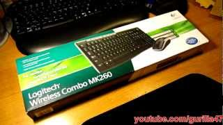 Unboxing: Logitech Wireless Combo MK260 Keyboard and Mouse