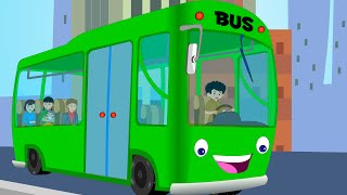Canzoni per bambini e bimbi piccoli | Wheels on the Bus compilation | Italian Baby music songs