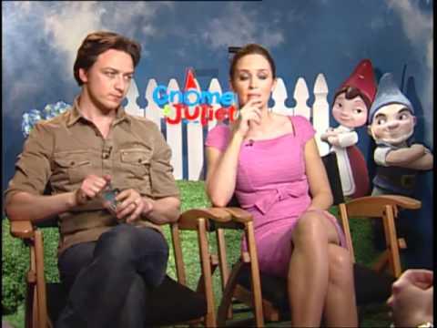 James Mcavoy Gnomeo And Juliet 'Gnomeo & Juliet' ...