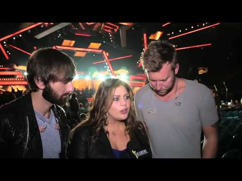 Behind the Scenes at Rehearsals: Lady Antebellum - 2014 ACM Awards