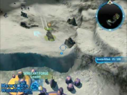 Halo Wars - Achievement - Everything's Better with Bacon - Mission 1 Video