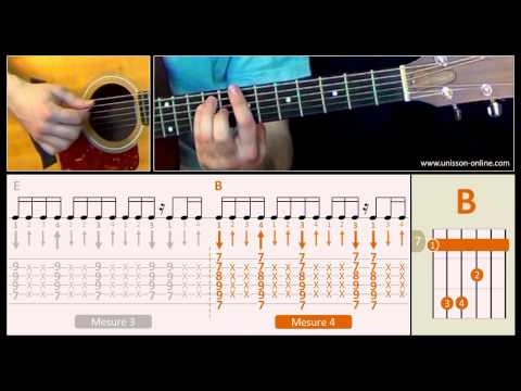 Jouer Faith (George Michael) - Cours Guitare. Tuto + Tab