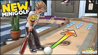 THE BEST BRAND NEW MINI GOLF GAME EVER!!! MINI GOLF INSIDE OF YOUR ROOM! | Infinite Mini Golf