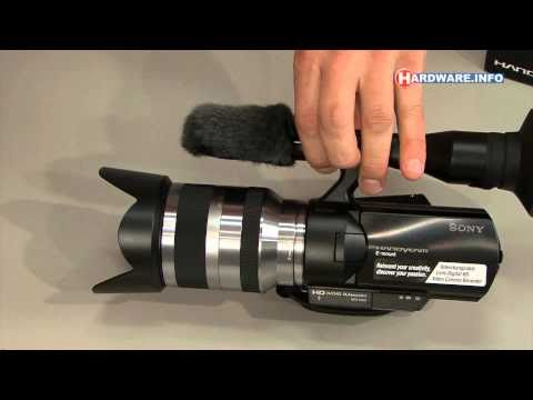 Sony NEX-VG10 unboxing and first look