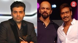 Karan Johar Miffed With Award Organizers | Ajay Devgn Upset With Rohit Shetty?