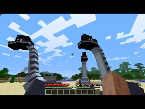 Minecraft Dinosaurs - Part 2 - First fossils!