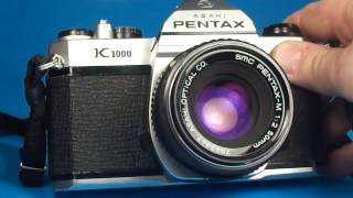 Pentax K1000 170417