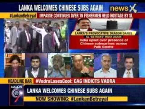 Nation at 9: Lanka welcomes Chinese subs again