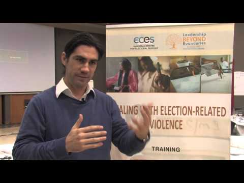 Alonso Muoz, Program Manager of the UPEACE Centre for Executive Education