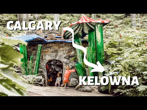 Calgary to Kelowna Road Trip with Kids