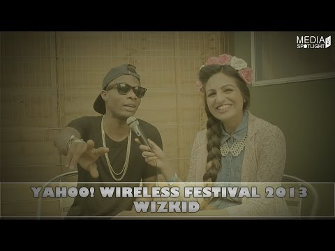 Yahoo Wireless Festival 2013 - Wizkid Interview (wizkidayo): Media Spotlight Uk video