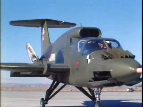 Rare Footage RYAN XV-5A Vertifan VTOL Test Flights (Part 2)
