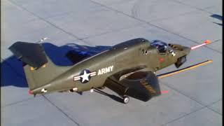 Rare Footage RYAN XV-5A Vertifan VTOL Test Flights (Part 2)