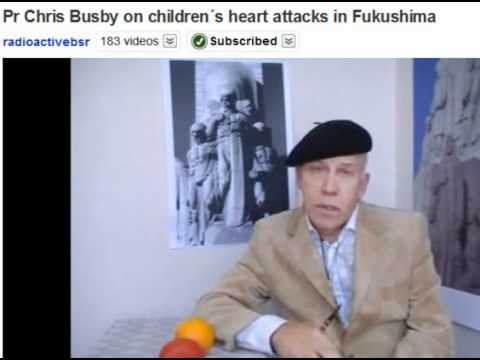 Children's Heart Attacks in Fukushima 6 month anniversary