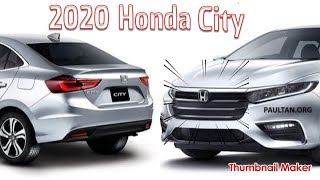 The All New 2020 Honda City in 2019