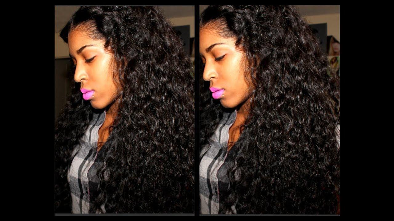 Yhasi Luxury Hair Company Virgin Brazilian Deep Wave - YouTube