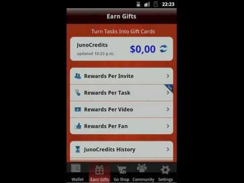 (Tutorial) Tarjetas pre-pago Play Station Network. Xbox LIVE Gratis con JunoWallet (App)