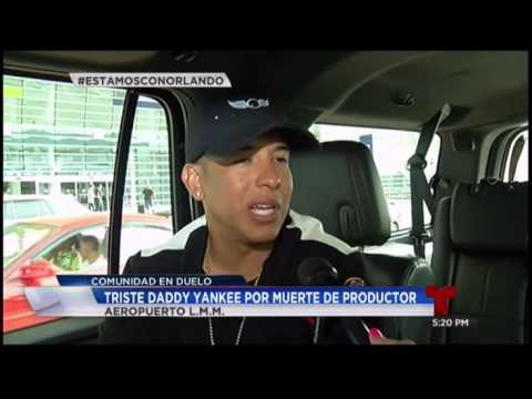 Daddy Yankee consternado por la muerte de su amigo videos