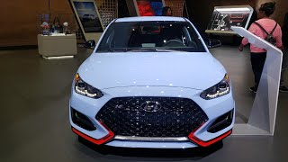 2019 Hyundai Veloster N - This hot hatch is proud to wear the N Badge