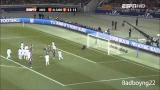 Lionel Messi 10 vs Neymar Jr 11 - FIFA Club World Cup 2011 HD ll Final and Semi Final ll