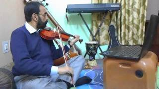Hindi Movie Song on Online Violin Class