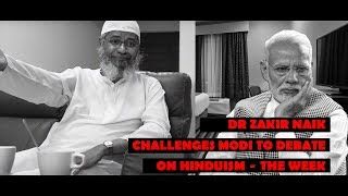 Zakir Naik challenges Modi to debate on Hinduism – THE WEEK