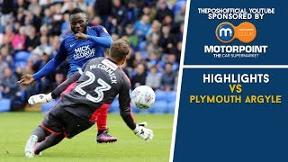 HIGHLIGHTS | The Posh vs Plymouth Argyle