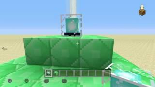 Minecraft Ps4: Tutorial de como hacer un Golem de nieve, un faro mágico y carteles de colores.